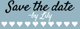 Save The Date by Lily Logo